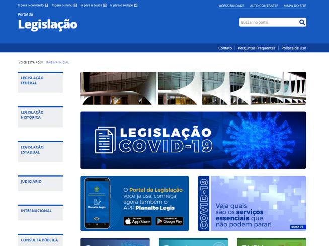 Portal da Legislação