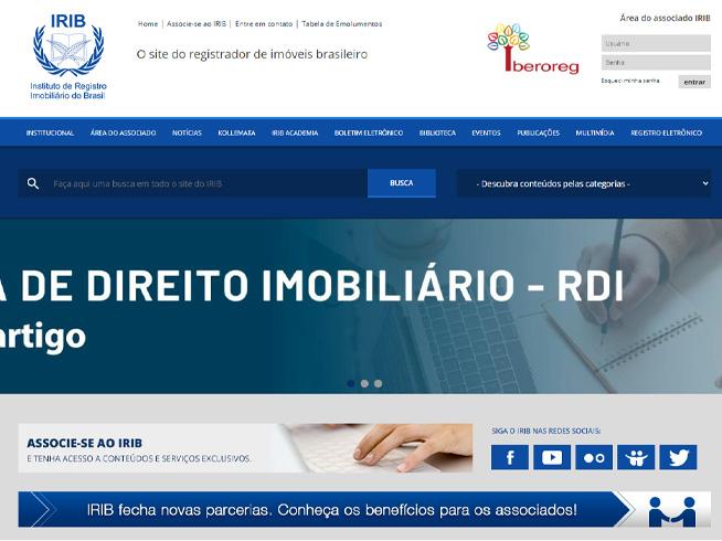 IRIB - Instituto de Registro Imobiliário do Brasil