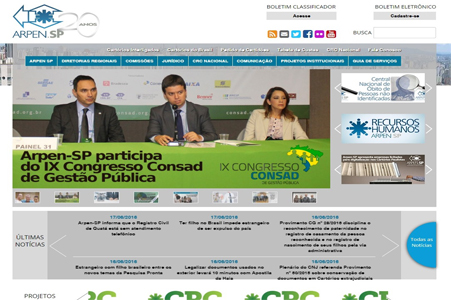 Arpen - Associação dos Registradores de Pessoas Naturais do Estado de São Paulo