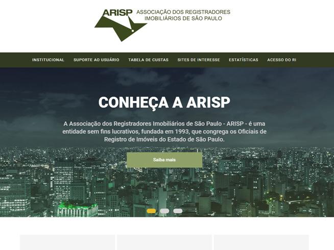 Arisp - Associação dos Registradores de Imóveis de São Paulo