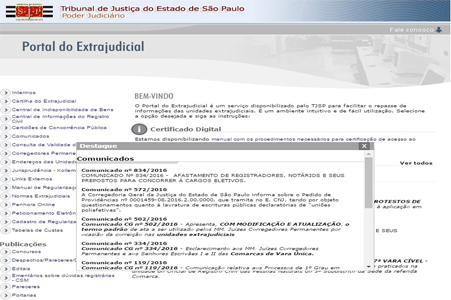 Portal do Extrajudicial
