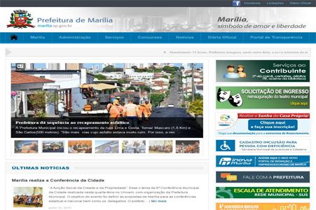Prefeitura Municipal de Marília/SP