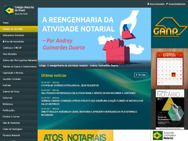 Colégio Notarial - Seção São Paulo